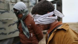 Civilians Flee War As ISIL Frontline Shifts Following Kurdish Sinjar Offensive
