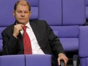 Arbeitsminister Olaf Scholz, Jobabbau, Foto: dpa