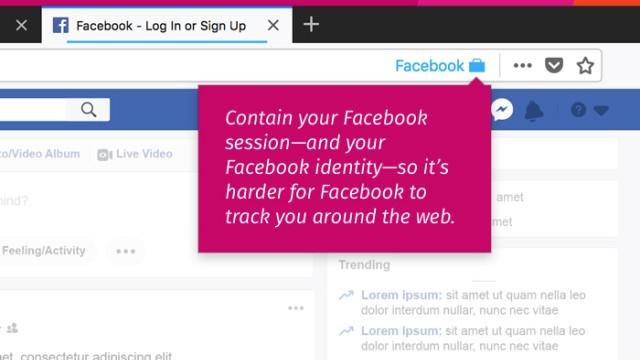 Firefox Facebook