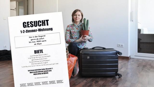 Münchner Wohnungsmarkt Suche Per Aushang München Szde