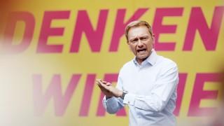 Wahlkampf FDP mit Lindner