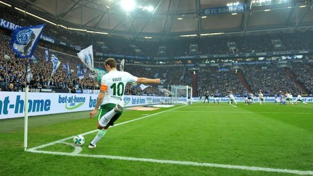 Gelsenkirchen Veltins Arena 03 02 18 Fussball 1 Bundesliga 21 Spieltag FC Schalke 04 SV W