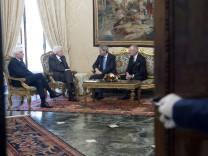 Italian Prime Minister Paolo Gentiloni, Rome, Italy - 24 Mar 2018