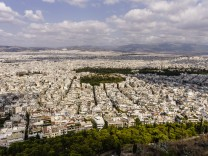 Greece Athens cityscape PUBLICATIONxINxGERxSUIxAUTxHUNxONLY THAF000903
