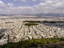 Greece Athens cityscape PUBLICATIONxINxGERxSUIxAUTxHUNxONLY THAF000903