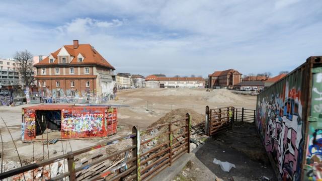 Süddeutsche Zeitung München Vorrang für Baustelle