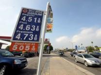 Hohe Benzinpreise in den USA