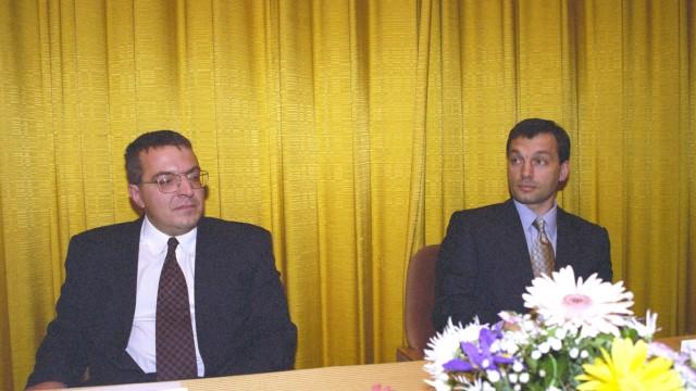 Lajos Simicska und Viktor Orban