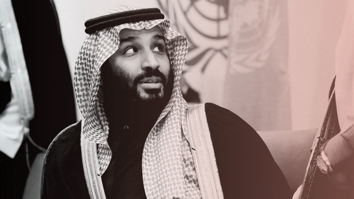 Saudi Arabia's Crown Prince Mohammed bin Salman Al Saud is seen during a photo opportunity at the United Nations headquarters in Manhattan