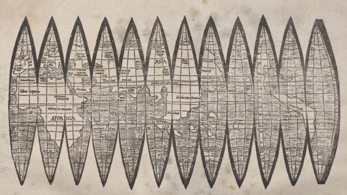 Waldseemüller-Karte zur Geschichte von Wolfgang Görl