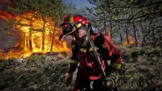 Waldbrände in Spanien