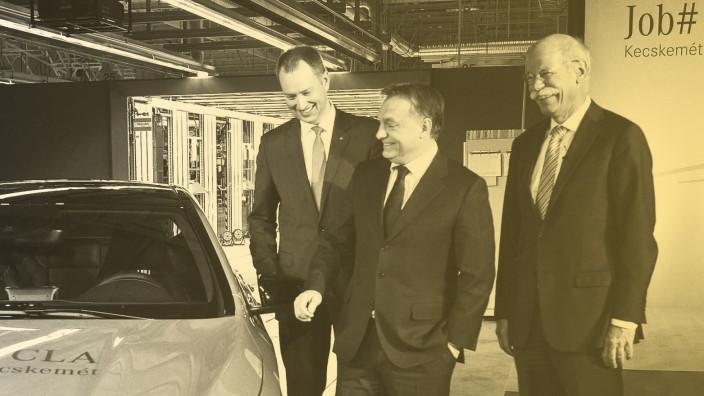launch of a new Mercedes model CLA-Class