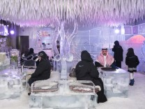 Chillout Ice Lounge, Dubai; Garden of Delight