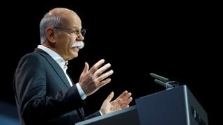 Daimler CEO Zetsche gives a speech at the Daimler annual shareholder meeting in Berlin