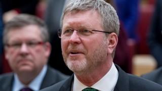 CSU-Mann Marcel Huber bei der Vereidigung von Söders erstem Kabinett