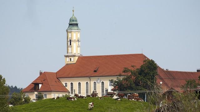 Kloster Reutberg Kirchturm