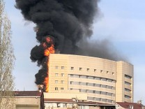 Feuer in Krankenhaus in Istanbul