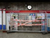 Haltestelle des U-Bahnhofs Sendlinger Tor in München, 2017