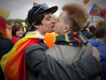 LGBT-Protest in St. Petersburg