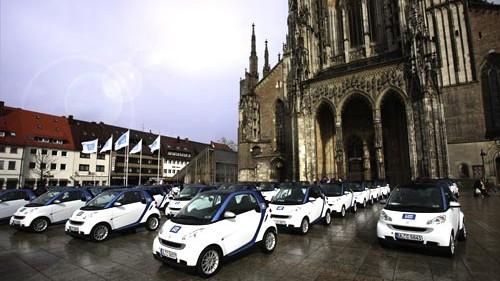 Mobilitätskonzept car2go