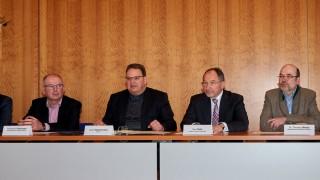 Pressekonferenz zur Geburtshilfe im Landratsamt