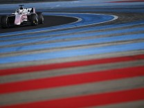 March 6 2018 Le Castellet France MAXIMILIAN GUENTHER of Germany and Arden International drives; Max Günther