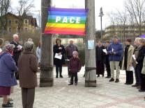 Demo zum  Jahrestag des Irak-Krieges
