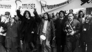 Rudsi Dutschke bei Vietnam-Demonstration