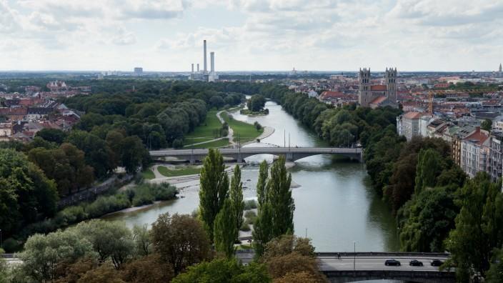 Fotografiert vom Turm des Deutschen Museums