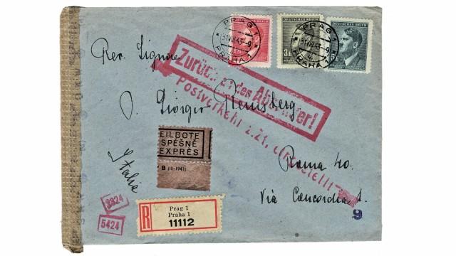 Geschichte Postkarten aus der NS-Zeit