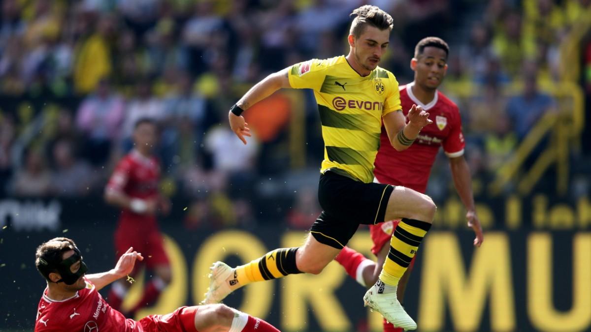 Wolfsburg angeblich mit BVB-Stürmer Philipp einig