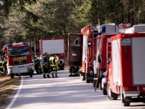 Waldbrand in Geretsried