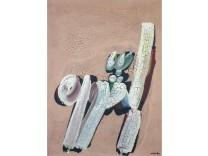 Dons pour le musée d'art moderne auprès de la délégation Palestinienne de l'Unesco; bild