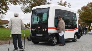 Bad Birnbach - Autonomer Bus bleibt unfallfrei - Bayern - Süddeutsche.de