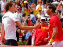 Davis Cup - Quarter Final - Spain vs Germany