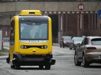 Charite Hospital Presents Autonomous Bus Pilot Project