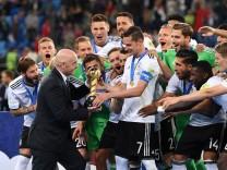 FUSSBALL FIFA Confed Cup 2017 FINALE IN ST PETERSBURG Chile Deutschland 02 07 2017 Fifa Praesiden