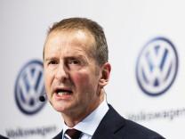 Herbert Diess ist neu an der VW-Spitze