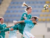 Frauen: WM-Qualifikation Slowenien - Deutschland