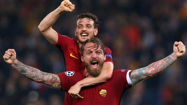 Champions League Quarter Final Second Leg - AS Roma vs FC Barcelona