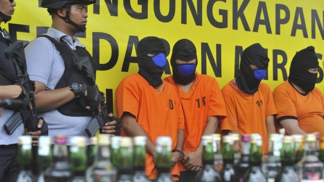 82 Tote in Indonesien durch den Konsum von Billigschnaps