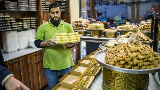 SYRIA-GERMANY-FOOD-CONFLICT-GASTRONOMY