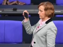 AfD-Politikerin Beatrix von Storch im Deutschen Bundestag.