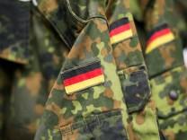 Einkleidung bei der Bundeswehr