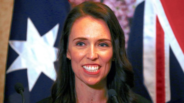 FILE PHOTO - New Zealand Prime Minister Jacinda Ardern smiles as she answers a question during a media conference in Sydney