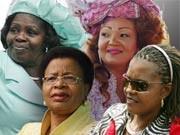 Chantal Biya, Grace Mugabe, Lucy Kibaki, Graça Machel