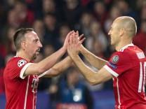 Franck Ribery und Arjen Robben: Die Flügelstürmer sollen auch 2019 im Trikot des FC Bayern auflaufen.