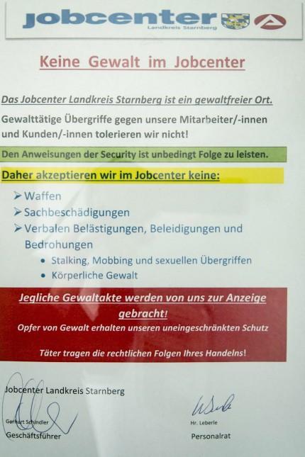 Starnberg Aggressive Kunden