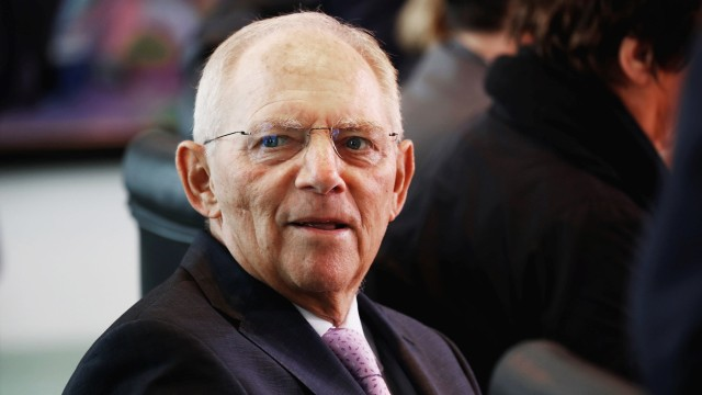Schäuble Interview Demokratien Macron AfD