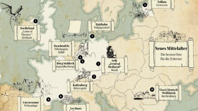 Mittelalter-Reisen